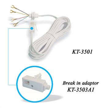 431A plug  to 4 spades connector...